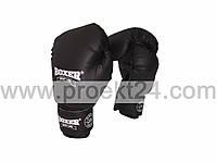 Перчатки бокс. 12 оz Кожвинил (пара), черные