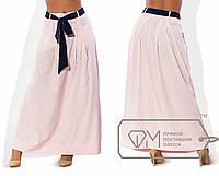 Женская длинная юбка в пол большого размера
