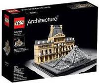 Lego Architecture Лувр 21024