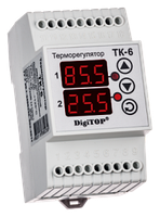 Регулятор температуры ТК-6 (двухканальный)