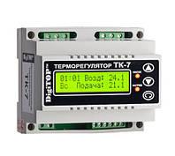 Регулятор температуры ТК-7 (трехканальный с недельным программатором)
