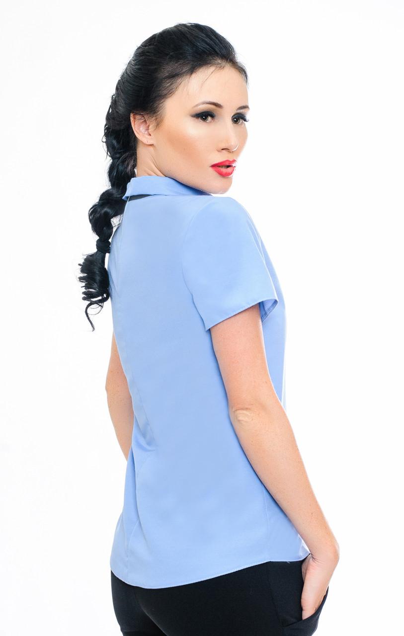 e28af9e7733 Голубая женская рубашка