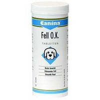 Canina Fell O.K. Pulver общеукрепляющий витаминный комплекс с биотином для собак.