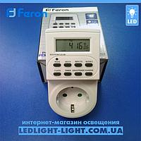 Розетка-таймер Feron TM22 електронний, фото 1
