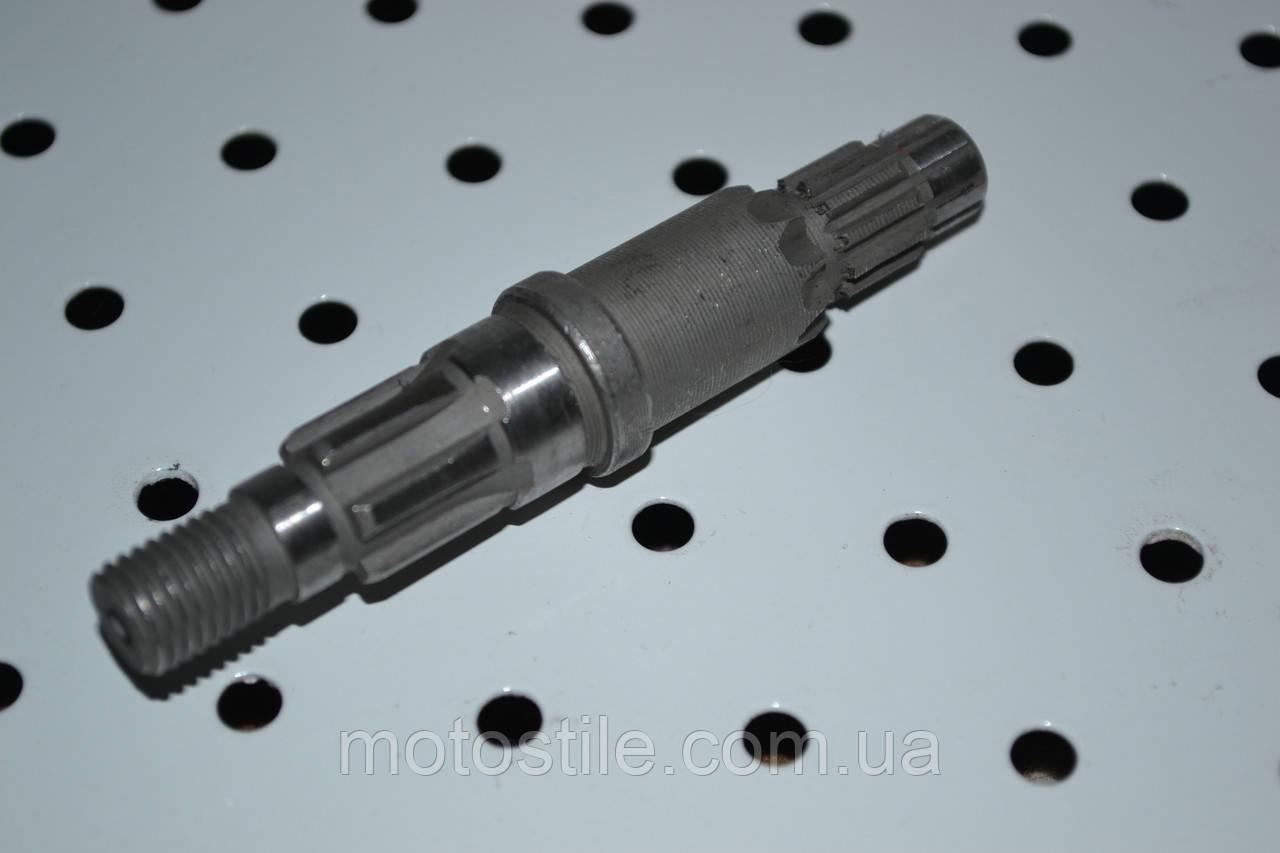 Вал нижнего редуктора L-82mm. для бензокосы, мотокосы