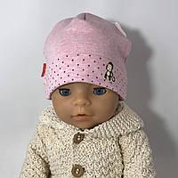 Трикотажная шапка для новорождённых