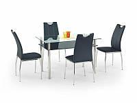 Стеклянный обеденный стол Lester 120(Halmar)
