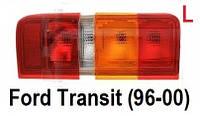 Задний левый фонарь Ford Transit (96-00). Новые фонари Форд Транзит. Стопы.