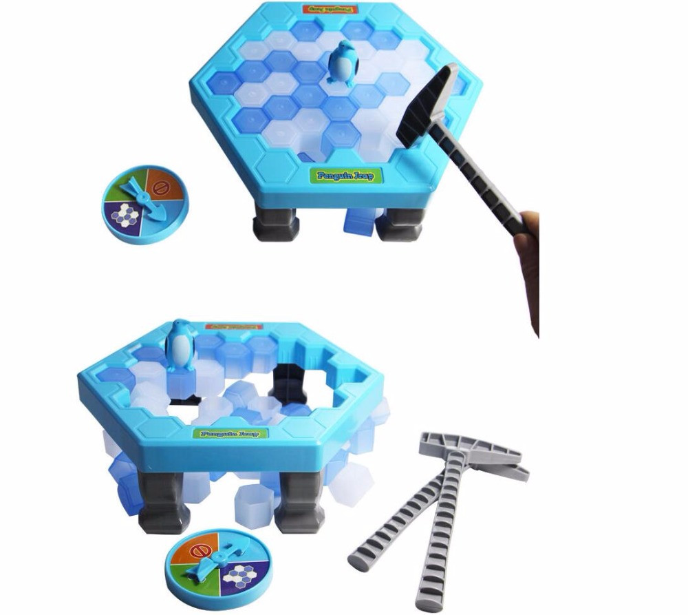 Настольная игра: Не урони пингвина! Ловушка для пингвина!