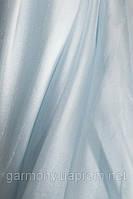 Ткань муар Голубой