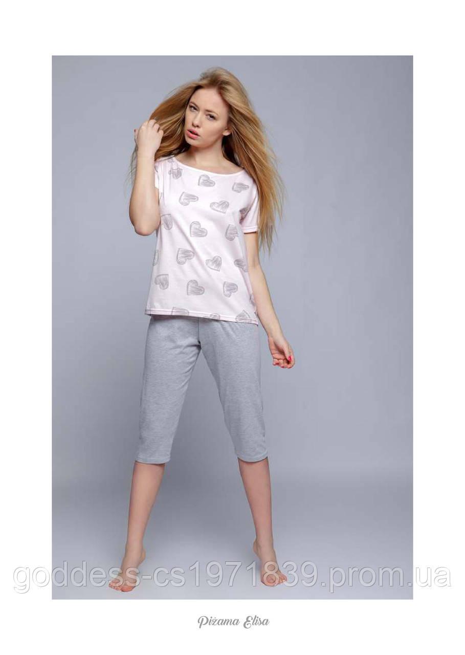338b21a673daf Пижама женская с бриджами Sensis Elisa, цена 840 грн./комплект ...