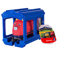 CHUGGINGTON Паровозик Джекман с гаражом