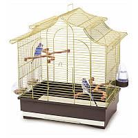 Клетка Imac Pagoda Export для попугаев, латунь, 50х30х53 см