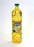 ТМ КАМА Масло оливково-подсолнечное раф. 1 л 15 шт/уп