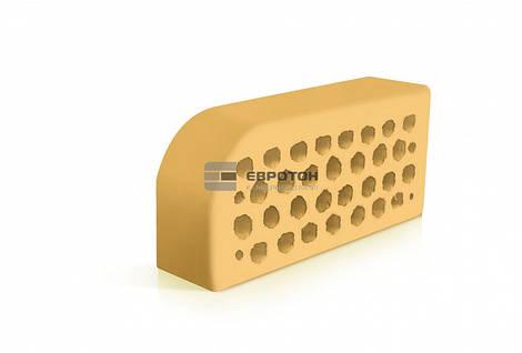 Фасонный облицовочный кирпич ЕВРОТОН ВФ-5 желтый