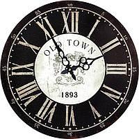 Стильные круглые настенные часы