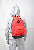 Cпортивный рюкзак nike копия  красный