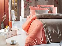 Постельное белье Семейное First Choice De Luxe DLX- 03 Craze Vizon