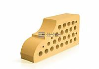 Фасонный облицовочный кирпич ЕВРОТОН ВФ-10 желтый