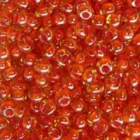 Бисер Preciosa Чехия №81393 50г, оранжевый хамелеон, прозрачный с внутренней окраской