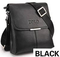 """Мужская сумка поло """"Polo"""" Черный"""