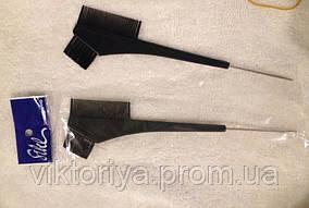 Кисточка для окрашивания волос с расческой и крючком