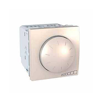 Диммер (светорегулятор) SCHNEIDER Unica MGU3.511.25, для устройств с ферромагнитным трансформатором, сл.кость
