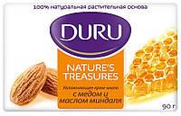 Мыло Duru Nature's Treasure с миндальным маслом и медом 90 г