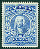 Марка Маврикий Mauritius британские колонии