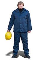 Куртка рабочая на ватине (ткань диагональ)