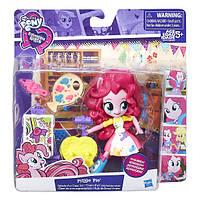 Мини-кукла с аксессуарами, Pinkie Pie MLP EG Hasbro B4909&B9472