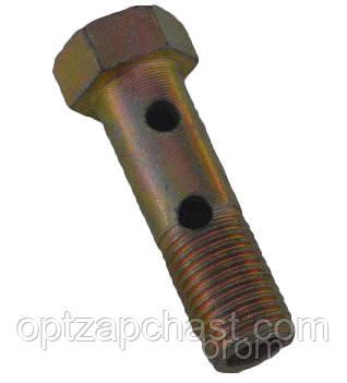 Болт штуцер топливный М10х1.5 2 отверстия (240-1111103-А-01)