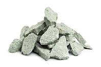 Камень для бани жадеит колотый мелкий в мешке Хакасия