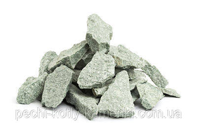 Камень для бани жадеит мелкий в мешке 10 кг Хакасия (колотый), фото 2