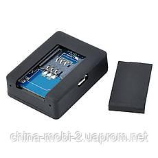 GSM трекер Mini A8 мікрофон, охоронний пристрій з датчиком звуку, кнопка SOS, фото 3