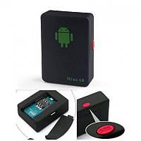 GSM трекер Mini A8 - прослушка, охранное устройство с датчиком звука, кнопка SOS