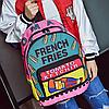 Молодежный рюкзак с ярким принтом, фото 3