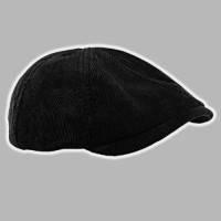 Кепка мужская из вельвета  восьмиклинка 56-60