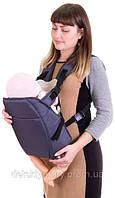Рюкзак кенгуру переноска сидя, для детей с трехмесячного возраста, Фиолетовый