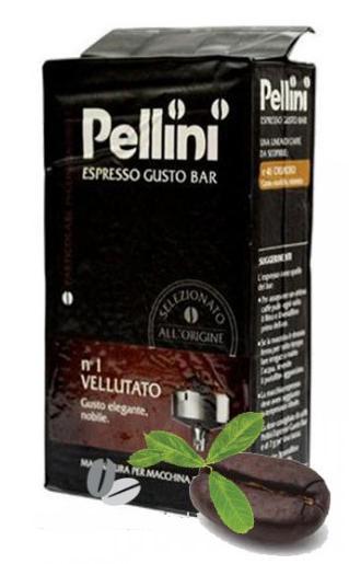 Кофе молотый из Италии Pellini Espresso n.1 Vellutato 250 г.