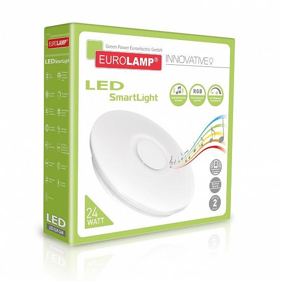 Светодиодный LED светильник EUROLAMP SMART LIGHT RGB 24W dimmable 3000-6500K