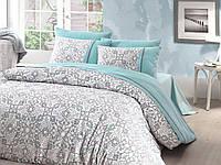 Постельное белье Семейное First Choice De Luxe DLX- 10 Bearriz Turkuaz