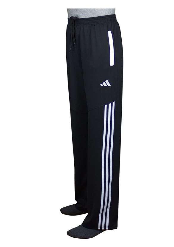 Модные спортивные брюки женские черный с белым - фото teens.ua