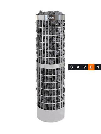 Электрическая печь (каменка)  Harvia Cilindro Pro 100E для сауны и бани, фото 2