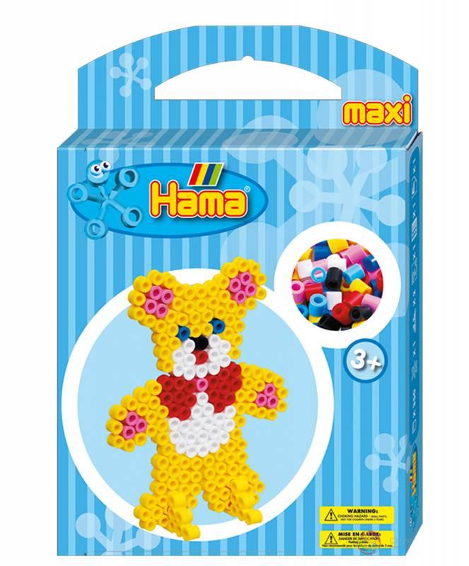 Термомозаика Hama Набор Мишка maxi (8761)