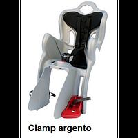 Детское велокресло заднее Bellelli B1 Сlamp до 22 кг