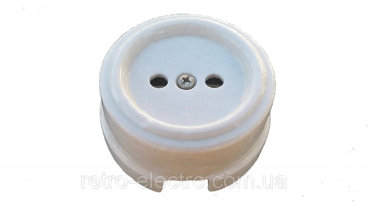 755f6c540002 Ретро розетка белая керамическая без заземления  продажа, цена в ...