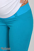 Летние джинсы для беременных Pink light, темно-морская волна