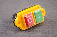 Кнопка,выключатель для бетономешалки 4 клеммы