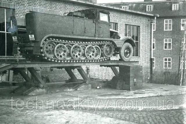 1937 - Грузовой автомобиль Hanomag H KL 6